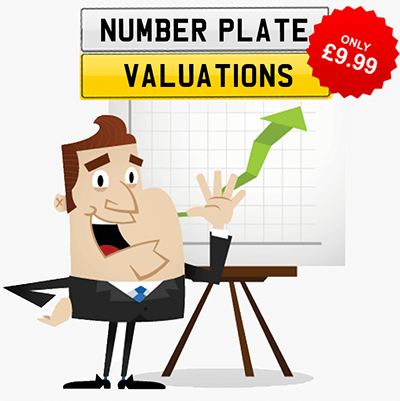Number plate valuations. How much is your number plate worth?